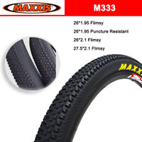 MAXXIS M333 26/27.5 * 2.1/1.95 MTB Tires 60TPI Puncture Resistant/Flimsy Tyres