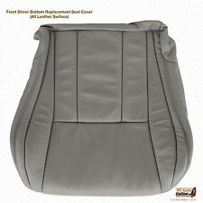 1999 2000 2001 Toyota 4Runner Driver Bottom replacement Leather Seat Cover Gray