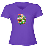Animal Crossing Isabelle K.K. Slider Group Juniors Teen Tee T-Shirt Gift Shirts