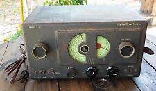 The Hallicrafters Co. Model S-38 Shortwave Ham AM Tube Radio