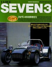 [BOOK] I LOVE SUPER SEVEN Part.3 CATERHAM R500 ZORDER BIRKIN K CK 7 Lotus Japan