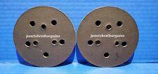 "Porter Cable 13901 5"" 5 Hole Adhesive Back Random Orbit Sander Pad 2 Pack"