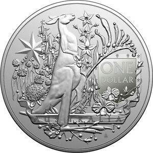 AUSTRALIA 2021 $1 Investment Coin - Australia's Coat of Arms SOLD OUT AT MINT