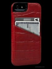 Sena Lugano Wallet Leather Case for iPhone 5 / 5s / 5se Red New