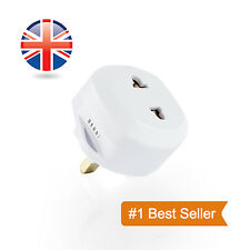 Berri Shaver Adapter Plug UK To 2 Pin Socket Plug Fuse Bathroom Shaving