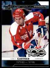 2017-18 Upper Deck Hockey Series 1 Centennial Standouts #CS-80  Mike Gartner