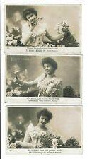 CPA-Lot de 5 Cartes vierges  Postales-France-Le Langage des fleurs