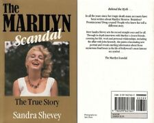 MARILYN MONROE - The Marilyn Scandal - By Sandra Shevey NEW Paper Back BOOK #AD