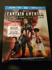 Captain America The First Avenger (2011) Blu-ray Marvel 2 Disc Set Chris Evans