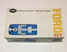 COX Ford GT 1/32 Competition Slot Car , magnesium chassis  #9900:698