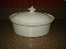 IRONSTONE CHINA COVERED VEG DISH SGN ROYAL ROCHESTER SYRACUSE CHINA