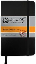"Piccadilly Essential Notebook Small * Black 3.5 x 5.4"" College Ruled NEW!"