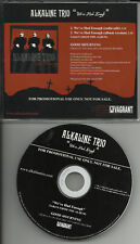 ALKALINE TRIO We've had enough EDIT PROMO Radio DJ CD single USA MINT 2003