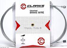 Clarks Universal Brake Cable 2000mm 1.5mm Road / Mountain Bike Galvanized Steel