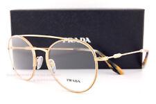 Novo em folha Armação Para Óculos Prada Pr 55UV 7OE Ouro Antigo Para Homens  Mulh. 163ff9d155