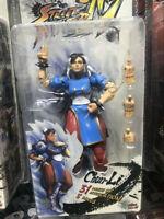 New Capcom Street Fighter IV 20th Anniversary CHUN-LI Action Figure New in Box