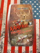 "Dead Ringer Rampage Hybrid 3 Blade 125gr -1.5"" 3pk #DR4972"