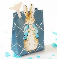 Peter Rabbit Blue Baby Shower Party Favour Loot Gift Bag