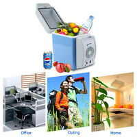 12V Car Small Refrigerator Mini Fridge Cooler/Warmer Mini Compact 7.5 L Fridge