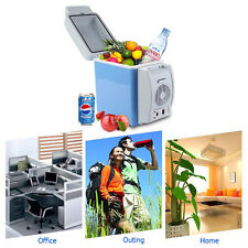 12V Car Small Refrigerator Mini Fridge Cooler/Warmer Mini Compact 7.5 L Fridge