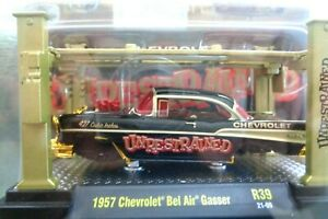 M2 Machines 1/64 1957 Chevrolet Bel Air Gasser Unrestrained Chase Model Kit