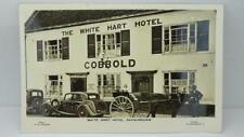 Antique White Hart Hotel Pub High Street Saxmundham unused RP (Bells)Suffolk