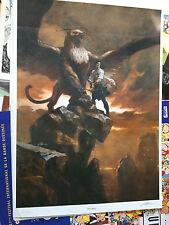 Affiche Alex Alice numérotée et signée sur 350 ex format 70x50 cm