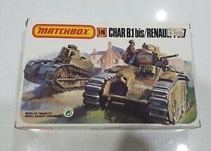 Matchbox No. 40176 | 1:76 Char B.1 bis / Renault FT.17