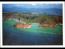 MOYA / LA PETITE TERRE (ILE de MAYOTTE) PLAGE & VILLE en vue aérienne en 2003
