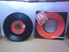Old 45 RPM Record - A&M 2375-S - Herb Alpert - Manhattan Melody / You Smile - Th
