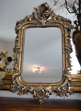 Miroir Mural Antique Baroque Rococo Style Or Chic Miroir de maquillage apparat miroir NEUF