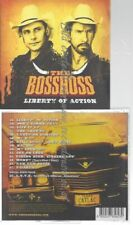 CD--THE BOSSHOSS--LIBERTY OF ACTION