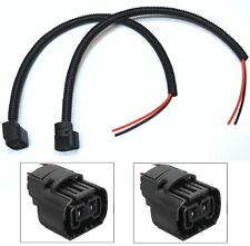 Extension Wire Pigtail Female PS19W 5201 DRL Light Harness Bulb Socket Plug Lamp