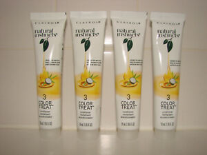 Clairol Natural Instincts Color Treat Conditioner 4 Tubes