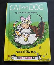 Cat and Dog ~ Else Holmelund Minarik ~ An Early I Can Read Book ~ 1960 ~ Siebel