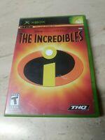 The Incredibles Microsoft XBOX THQ Disney Pixar