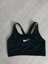 Nike Dri Fit Medium black workout sports  bra