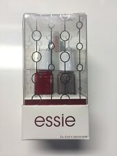 ESSIE 2 PACK NAIL POLISH GIFT SET CHINCHILLY & FOREVER YUMMY W/ NAIL FILE