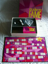 Complete 1990 CLAIM TO FAME PB Board Game You Can Do Anything To Win!