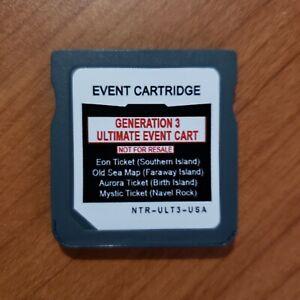 Pokemon Event Nintendo DS/GBA Distribution - **Ultimate Gen 3 Event Cartridge**