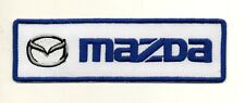 For Mazda Motor Sport Racing P886 Embroidered Iron on Patch High Quality Jacket