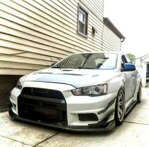 Varis style front Bumper for Mitsubishi Lancer, Ralliart - 2008+ UNPAINTED NEW