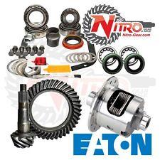 GM 12 Bolt Truck 3.08 Nitro Gear Ring Pinion Master Install Eaton Posi Package