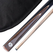 """Stunning Handmade 2 piece 57"""" Snooker Cue / Pool Cue - Carry Case"""