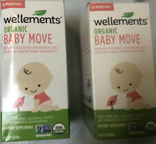 Wellments Organic Baby Move- Relieves Occasional Constipation 6 Months + 8 Fl Oz