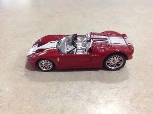 2007 Mattel Hot Wheels 1:87 Diecast Ford GTX1 Concept Red EUC
