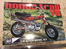 MPC Honda Trail 70 Minibike Motorcycle 1/8 Scale Model Kit