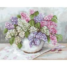 Gobelin Needlepoint Tapestry embroidery Kit Lilac Luca-S Petit point