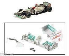 Scalextric W10249 Mercedes F1 2011 Rear Wing Spoiler Barge Board Nose Cone C3167