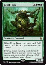 REGAL FORCE Eternal Masters MTG Green Creature — Elemental Rare